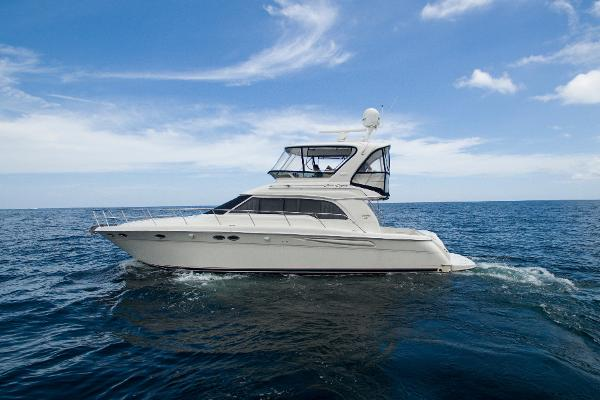 Sea Ray 480 Sedan Bridge Port profile