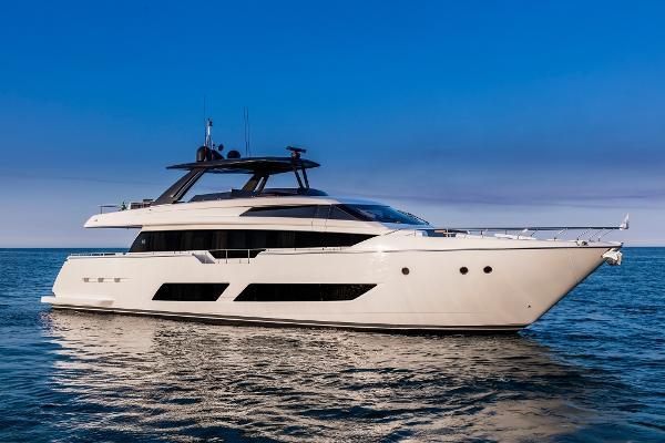 Ferretti Yachts 850 Manufacturer Provided Image