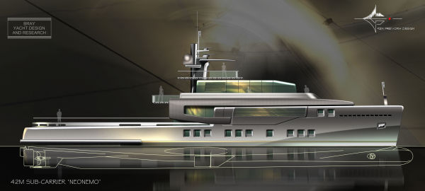 Bray Yacht Design Ocean Explorer Motoryacht Photo 1