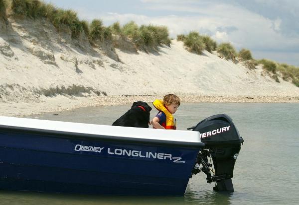 Orkney Boats Longliner 2 Moored