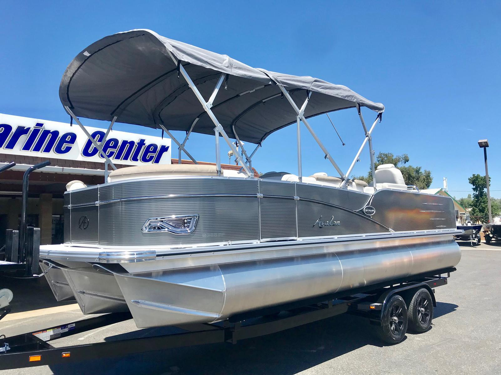 Avalon Catalina Rear Fish 23' w/ 150 HP Mercury 4 Stroke!