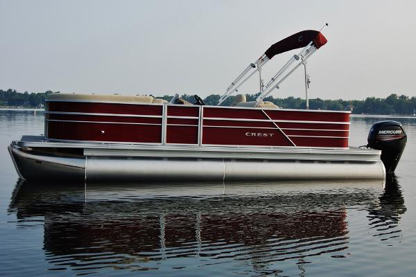 Crest Pontoon Boats I 220 Manufacturer Provided Image: Manufacturer Provided Image