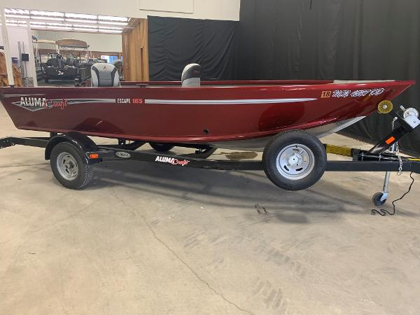 Alumacraft Escape 165 Tiller