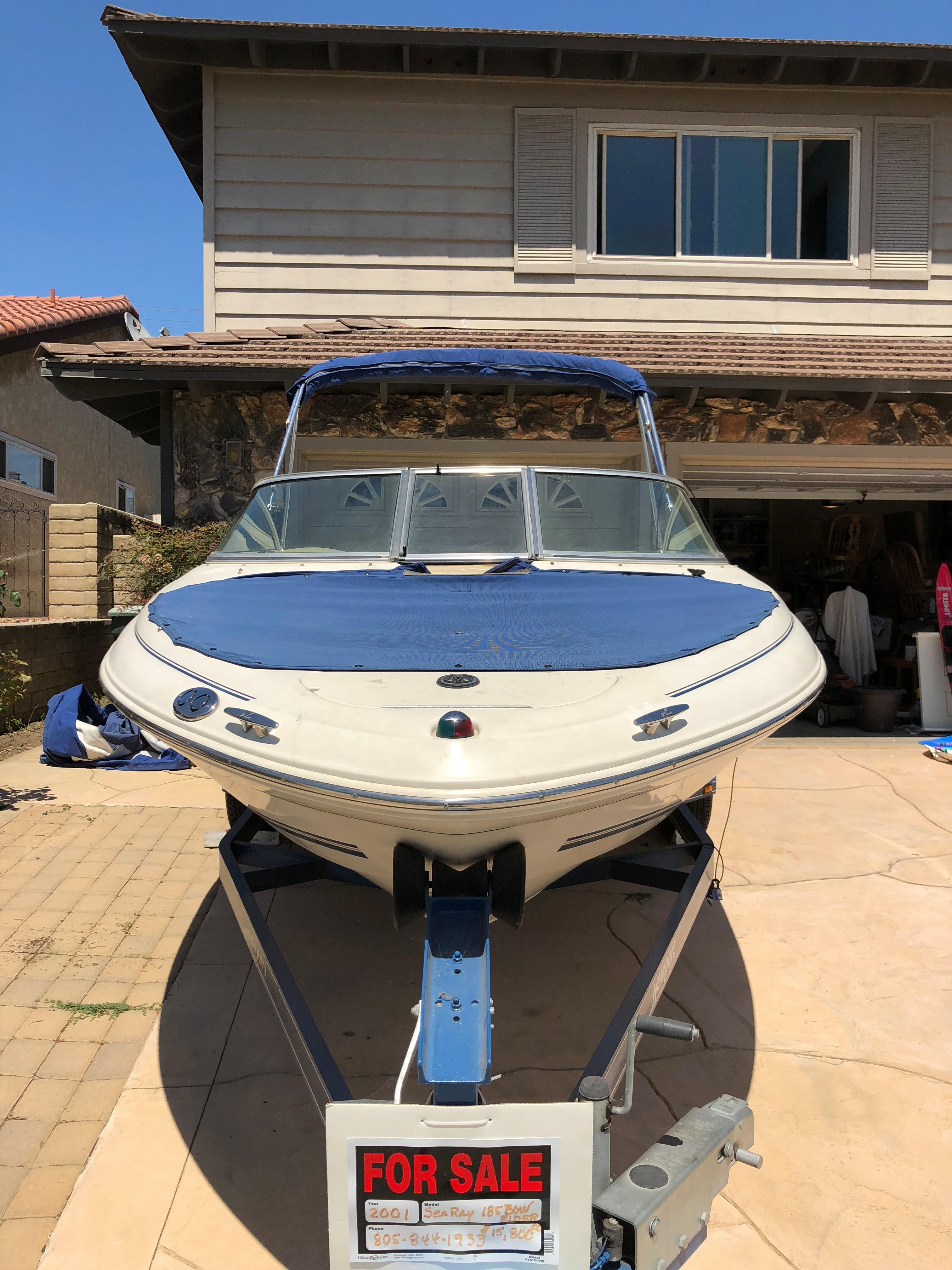 Sea Ray 185 Srx Bow Rider