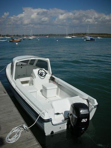 Orkney 522 Cockpit