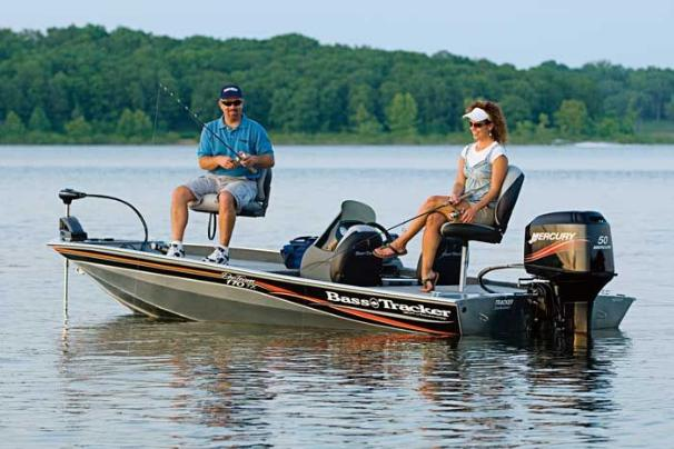 """Tracker Pro Team 170 TX Manufacturer Provided Image: Just 16' 4"""" in length, you'll find it as easy to fish and trailer as it is to launch and store."""