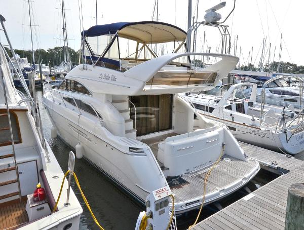 Princess 50 Flybridge Port Side