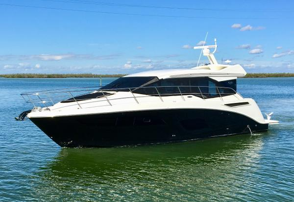 Sea Ray 460 Sundancer Port Profile
