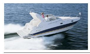 Cruisers Yachts 280 CXi Express Manufacturer Provided Image: 280 Cxi