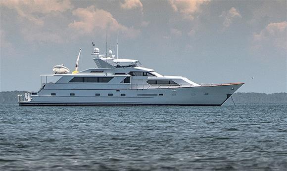 Broward Raised Pilothouse Motor Yacht