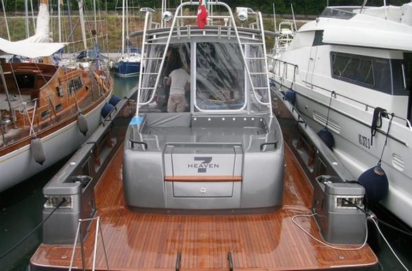 Blue Game 47 stern