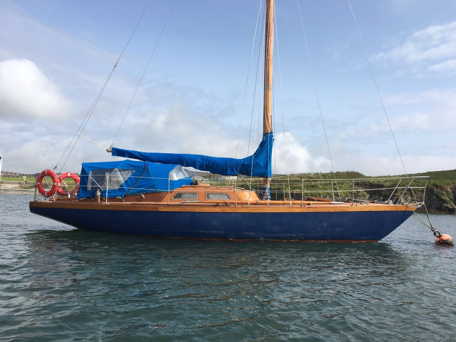 Orion 37ft Bermudan Sloop