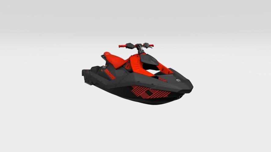Sea-Doo Spark Trixx 3up Lava Red / Deep Black 90