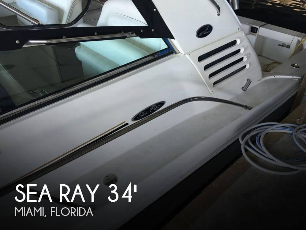 Sea Ray 340 Amberjack 2001 Sea Ray 340 Amberjack for sale in Miami, FL