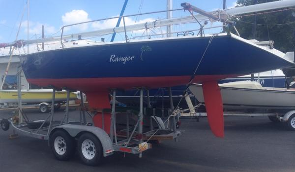 Colgate 26 Ranger on the Trailer