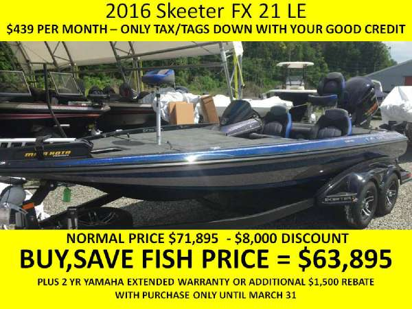 Skeeter FX 21 Limited Edition