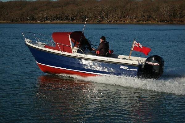 Orkney Vangaurd 190 Cruising