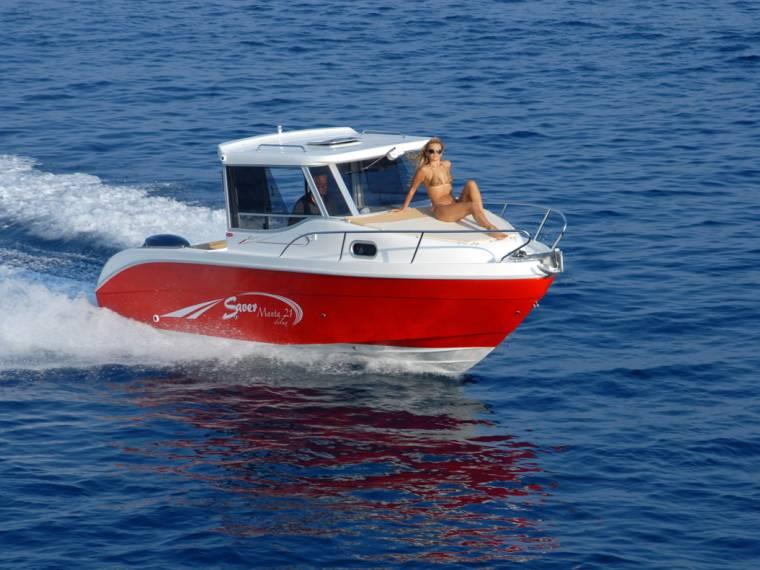 Saver Imbarcazioni SAVER MANTA 21 FISCHER DELUXE