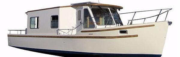 Aluminium Yachten Gerasch Hausboot 39 ES Hausboot 39 ES