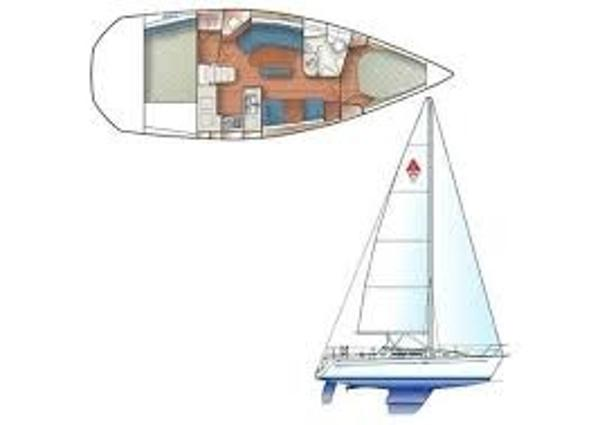 Catalina 350 Sloop Manufacturer Provided Image