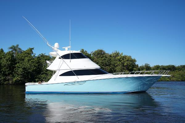 Viking 62 Enclosed Bridge Convertible Foolish Pleasure