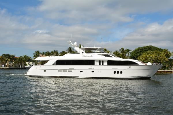 Hatteras 100 Motor Yacht 100' Hatteras Motoryacht, CRESCENDO