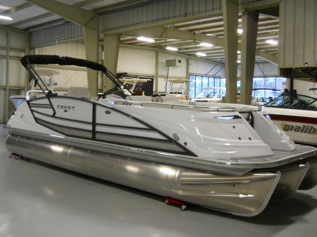 Crest Pontoon Boats 250 Savannah NX-L