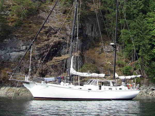 Ketch Motorsailer - Stan Huntingford Design