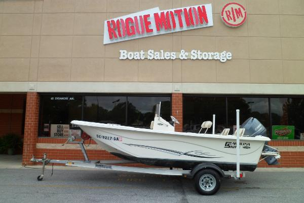 Carolina Skiff 178 DLV PORT ON TRAILER