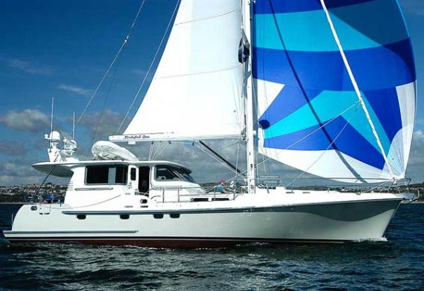 Nordhavn 56 Motorsailer Manufacturer Provided Image