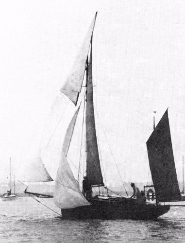 Classic Falmouth Quay Punt Greenshanks