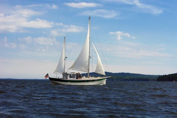 Custom 61 Bolger Pilothouse Ketch Phil Bolger 61 Pilothouse Ketch - Miss Nina - Owners Photo