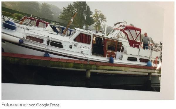 Altena Verdränger 11,40m Boot