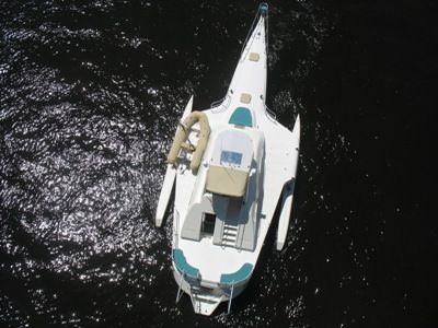 64' Multihull overhead aft profile