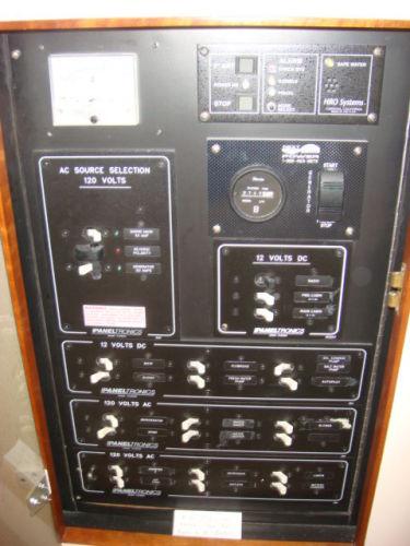 64' Multihull electrical panel