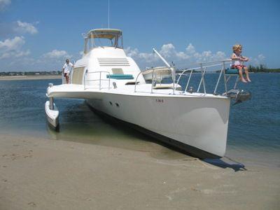 64' Multihull starboard forward profile2