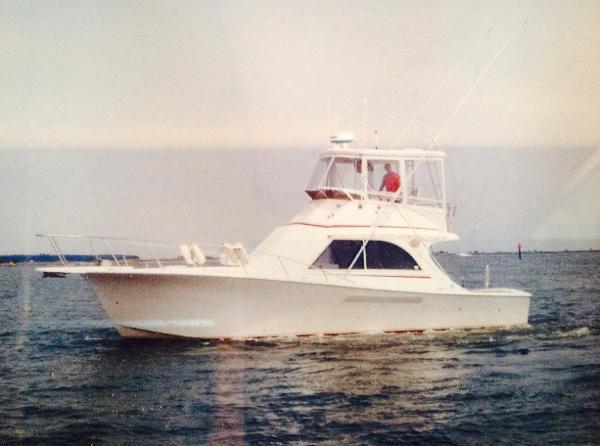 Jersey 36 Convertible Sportfisherman Profile
