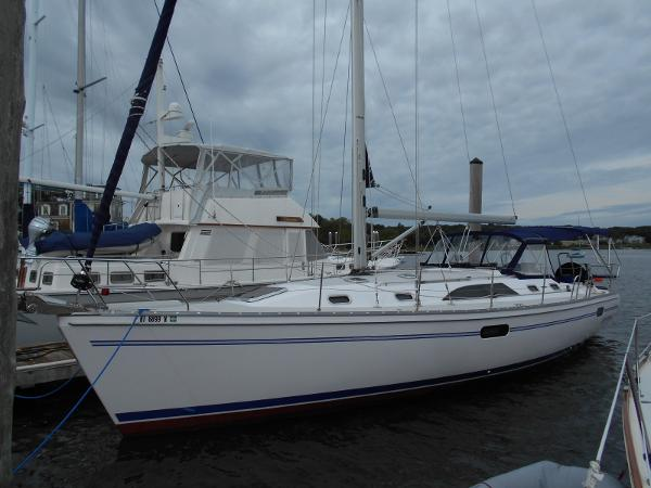 Catalina 445 Port Side Full Length View.