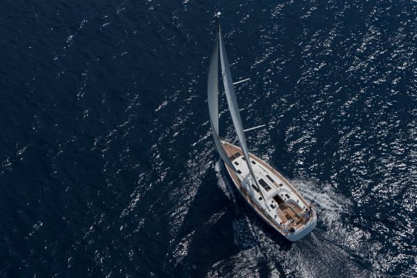Bavaria 50 Cruiser Aerial View