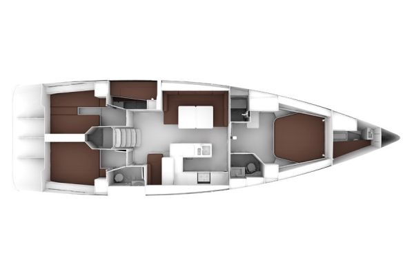 Bavaria 56 Cruiser Layout Plan