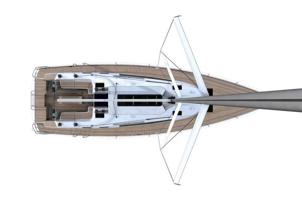 Bavaria 56 Cruiser Layout Deck Plan