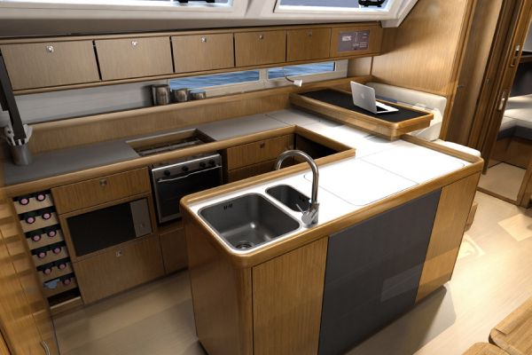 Bavaria 56 Cruiser Galley