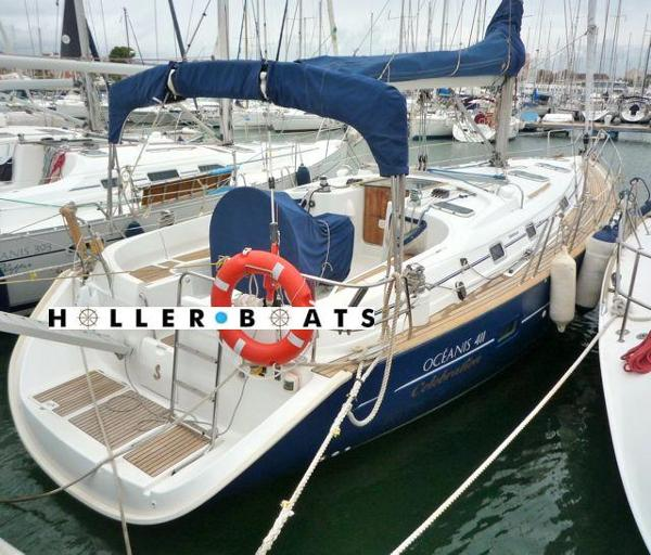 Beneteau Oceanis 411 Celebration berthed