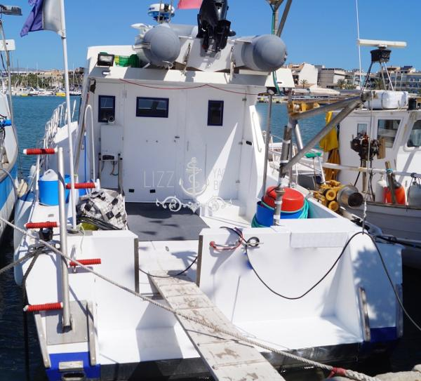 Custom Ricardo Borras dive boat Dive boat on Mallorca