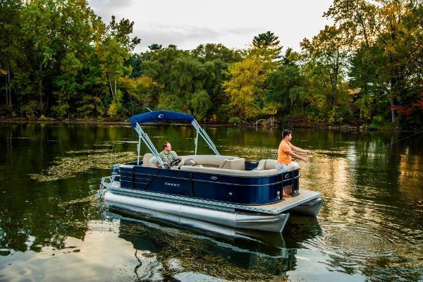 Crest Pontoon Boats CREST I Fish 200