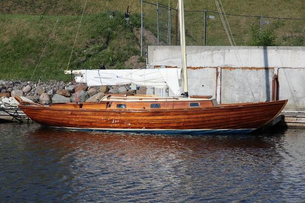 Nordic Folkboat - (Fully Restored) Restored Nordic Folkboat - On her berth