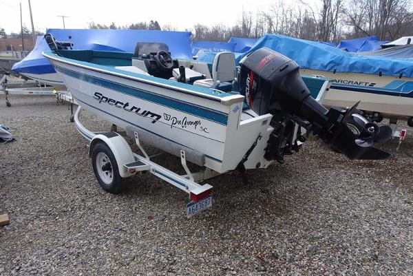 Spectrum new and used boats for sale for 16 foot aluminum boat motor size