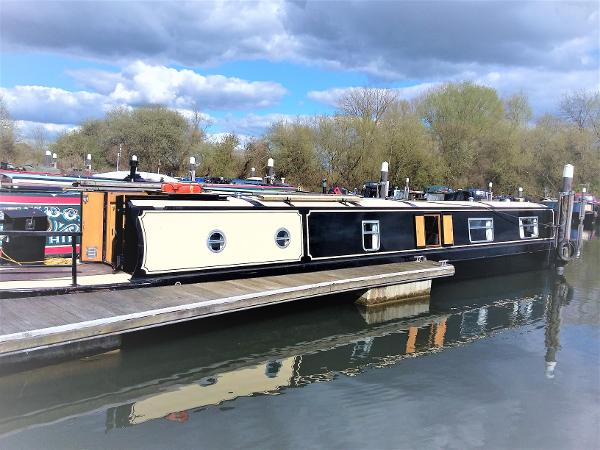 Narrowboat Sandpiper 56 cruiser stern