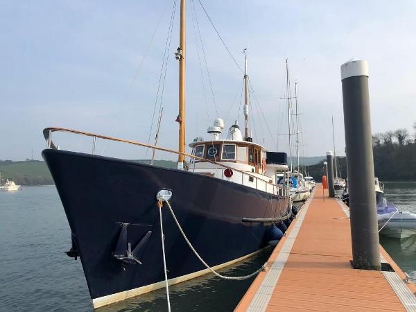 Cammenga De Vries Steel  Motor Yacht Cammenga 60 ft Steel Trawler Yacht