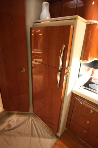 Full Upright Fridge and Freezer